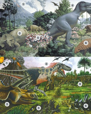 Extreme makeover falmouth university research repository for Age of reptiles mural